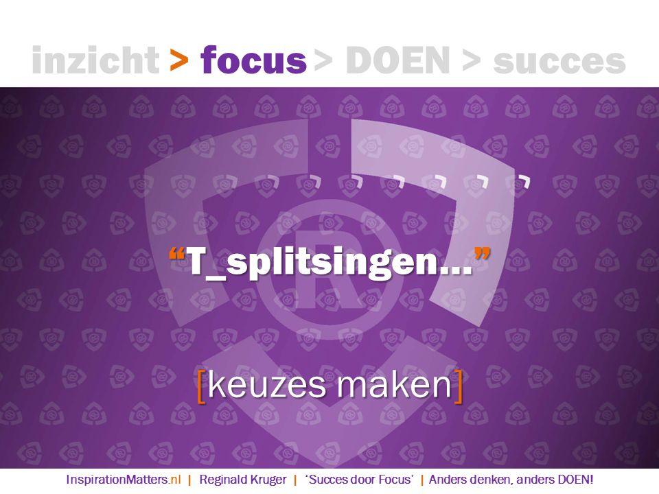 inzicht > focus > DOEN > succes T_splitsingen…