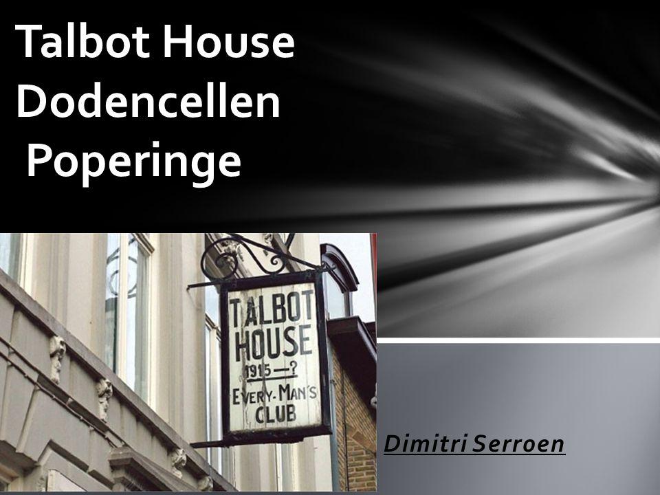 Talbot House Dodencellen Poperinge