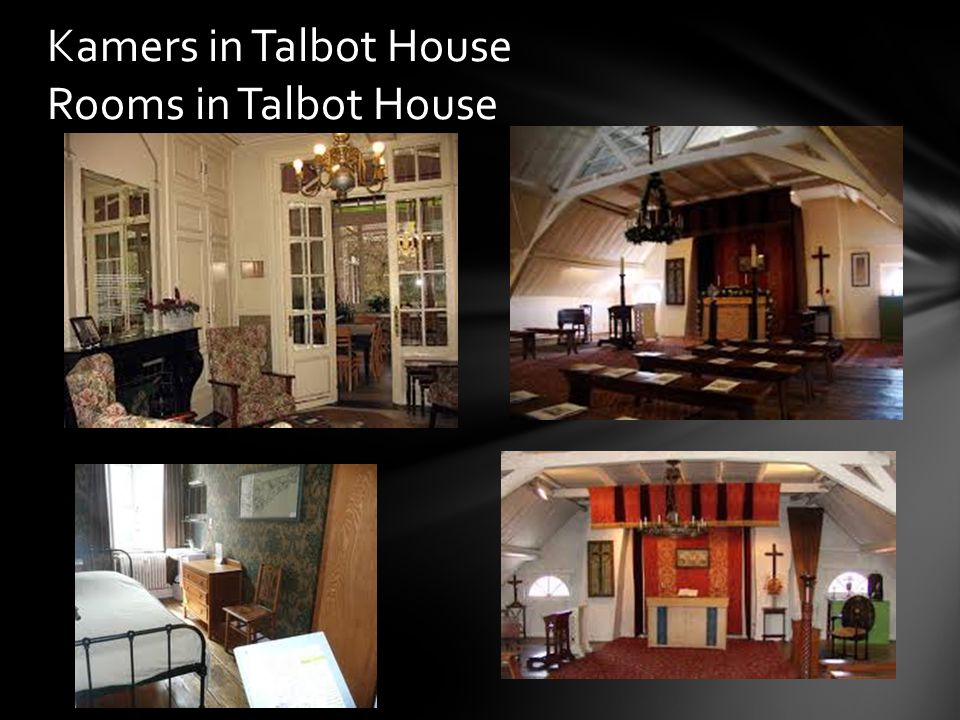 Kamers in Talbot House Rooms in Talbot House