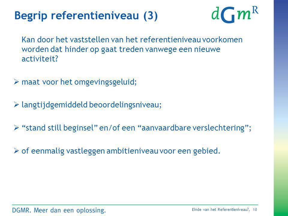 Begrip referentieniveau (3)