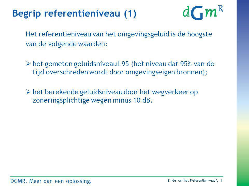 Begrip referentieniveau (1)