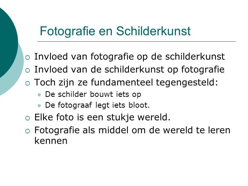 Fotografie en Schilderkunst
