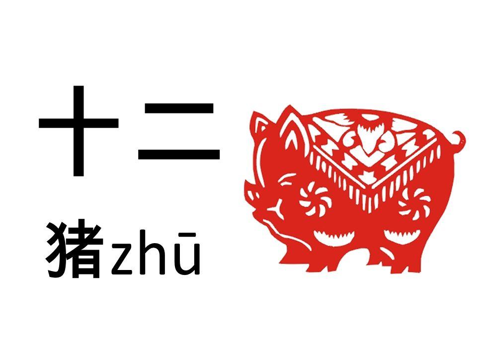 十二 猪zhū