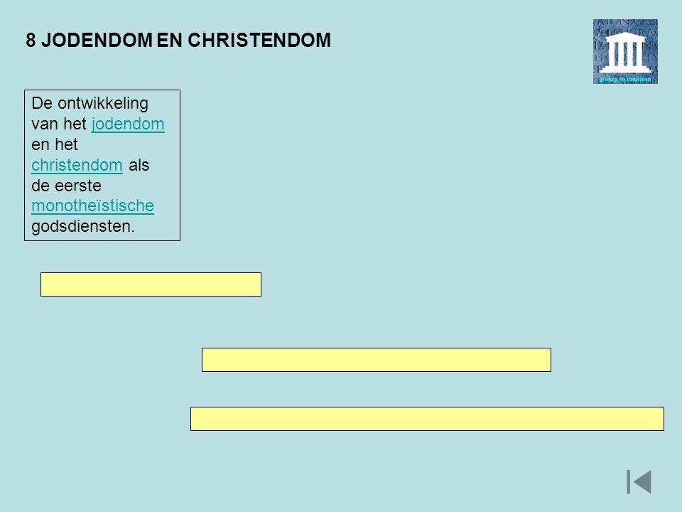 8 JODENDOM EN CHRISTENDOM