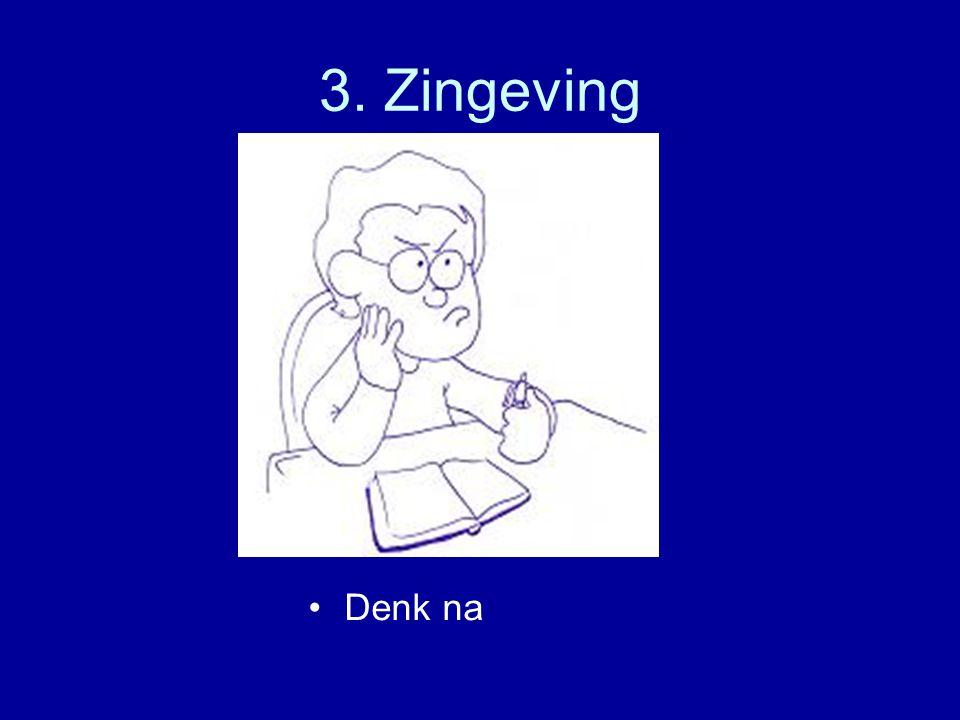 3. Zingeving Denk na