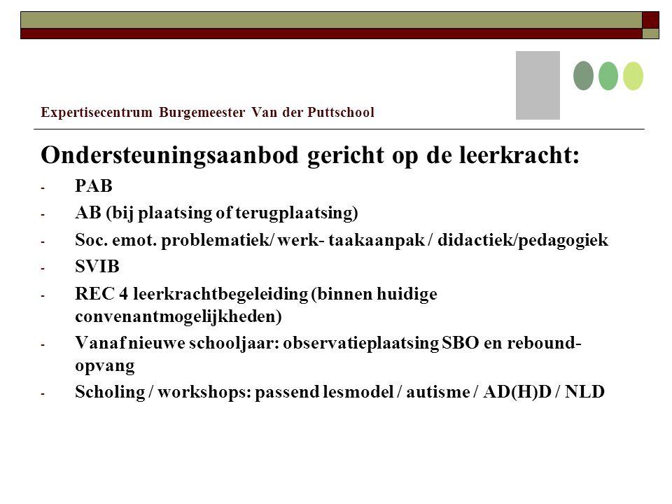 Expertisecentrum Burgemeester Van der Puttschool