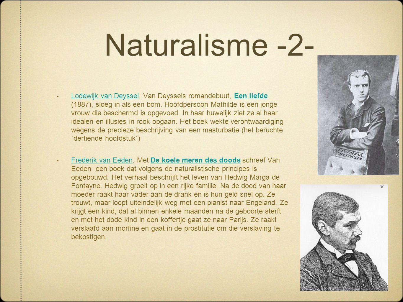 Naturalisme -2-