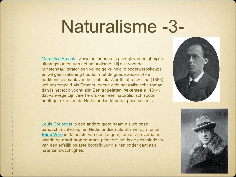 Naturalisme -3-