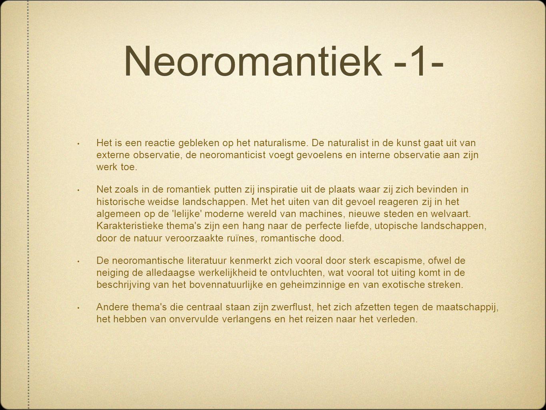 Neoromantiek -1-