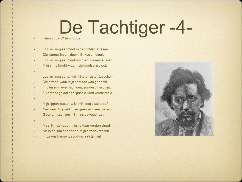 De Tachtiger -4- Herinning - Willem Kloos