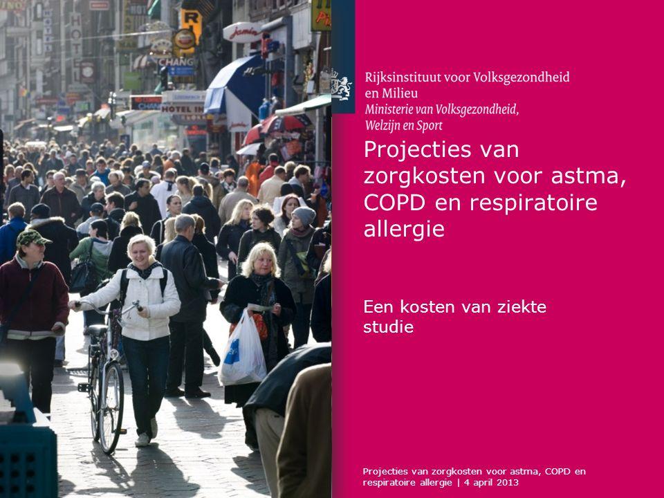 Projecties van zorgkosten voor astma, COPD en respiratoire allergie