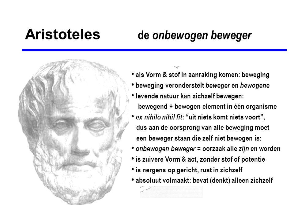 Aristoteles de onbewogen beweger