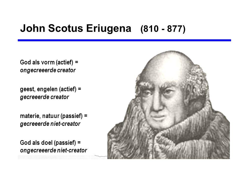 John Scotus Eriugena (810 - 877)