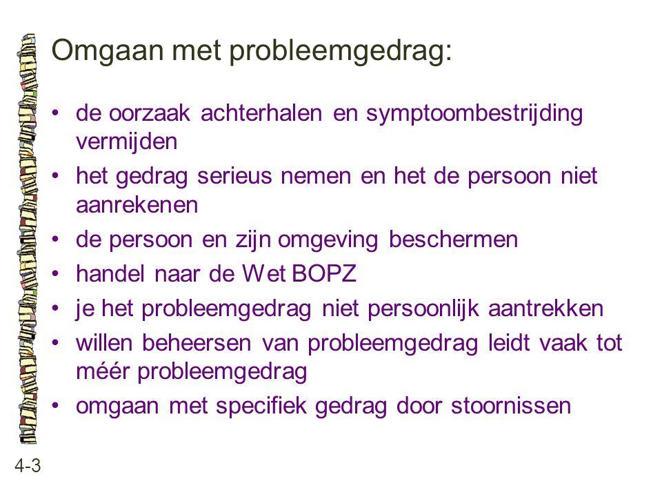 Omgaan met probleemgedrag: