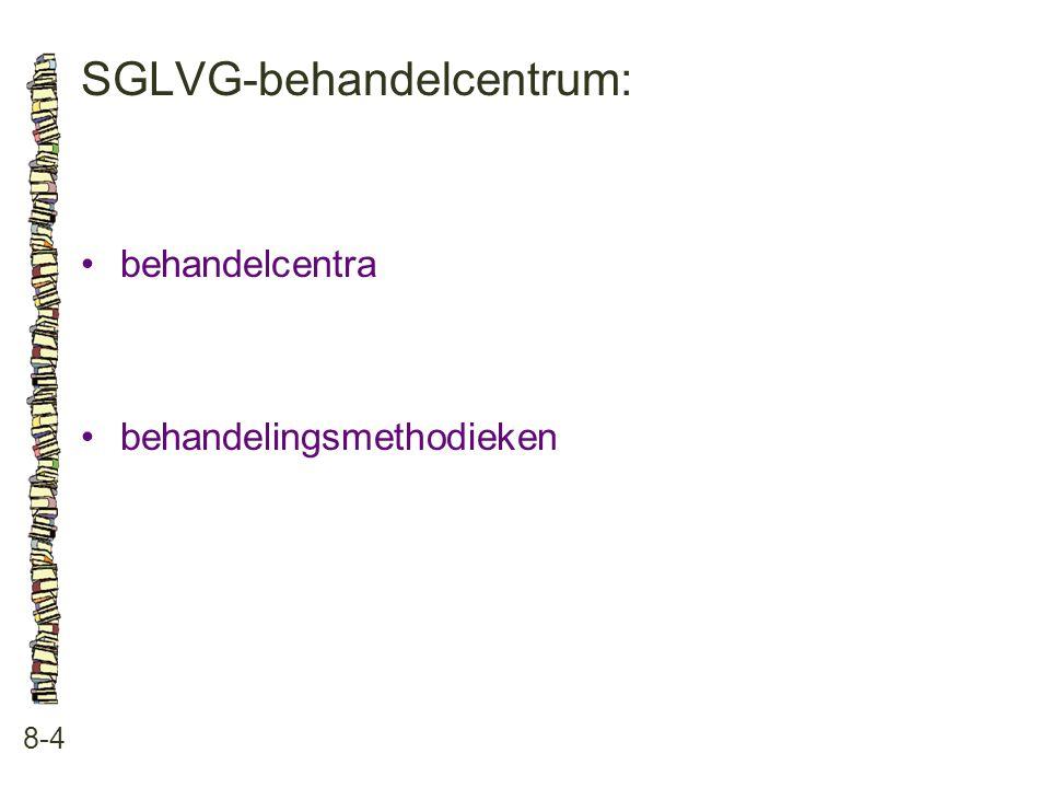 SGLVG-behandelcentrum: