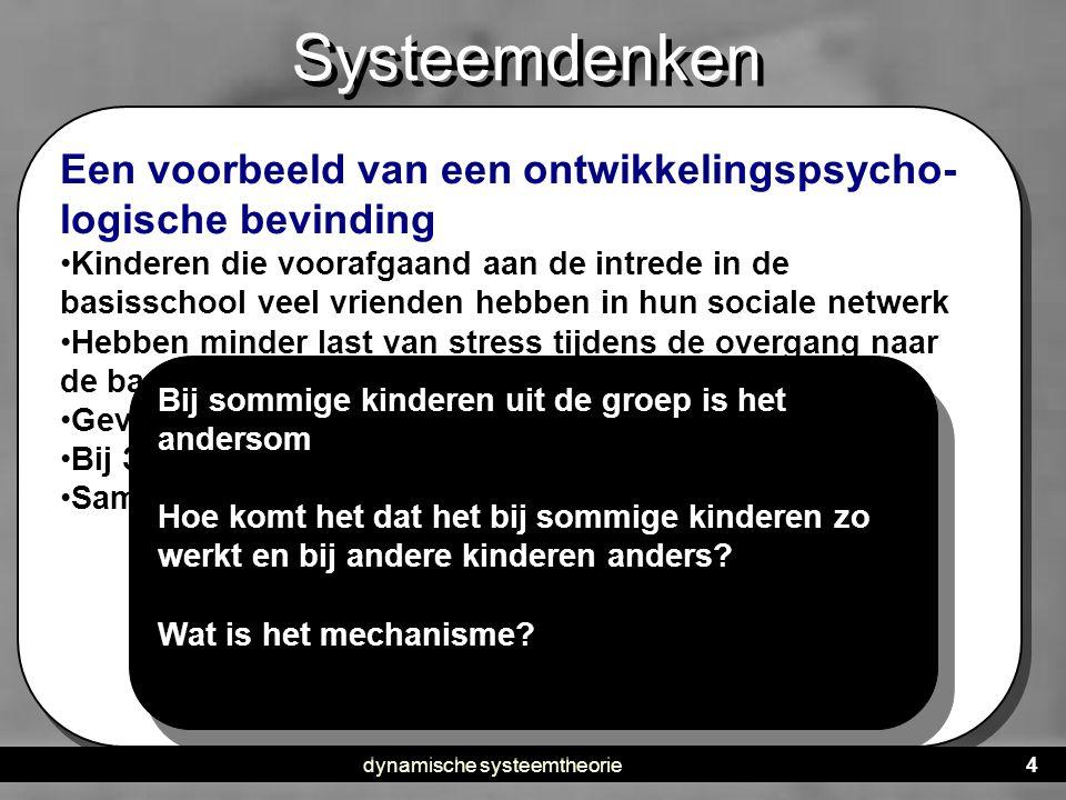 dynamische systeemtheorie
