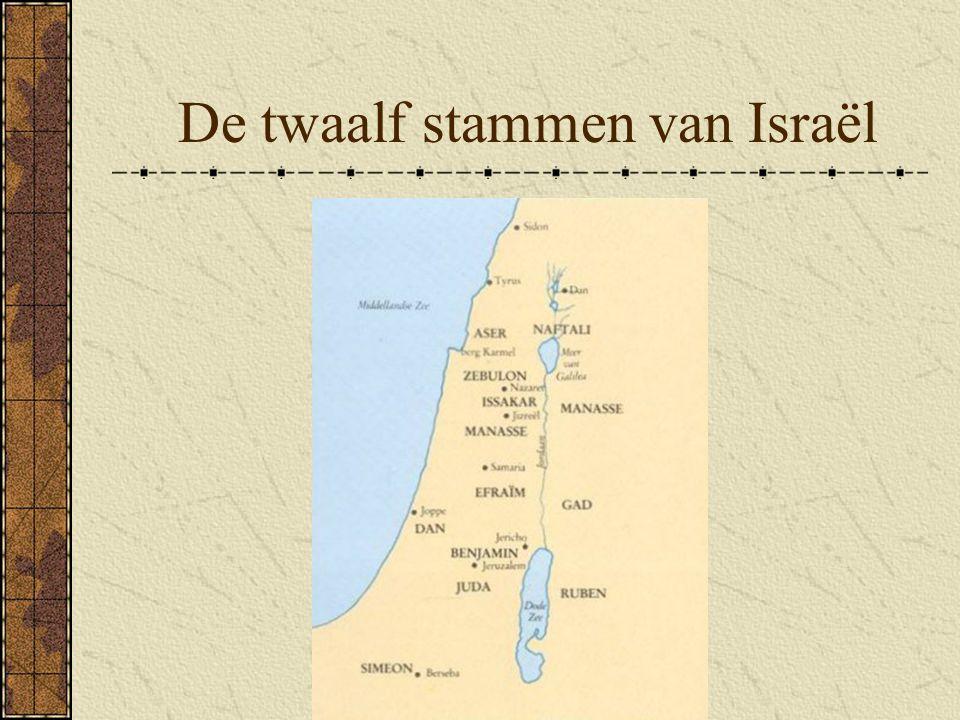 De twaalf stammen van Israël