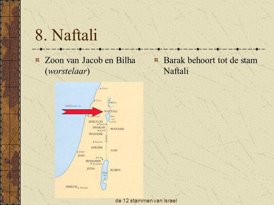 8. Naftali Zoon van Jacob en Bilha (worstelaar)