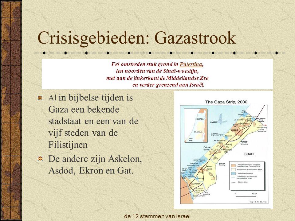 Crisisgebieden: Gazastrook