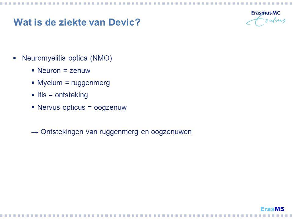 Wat is de ziekte van Devic