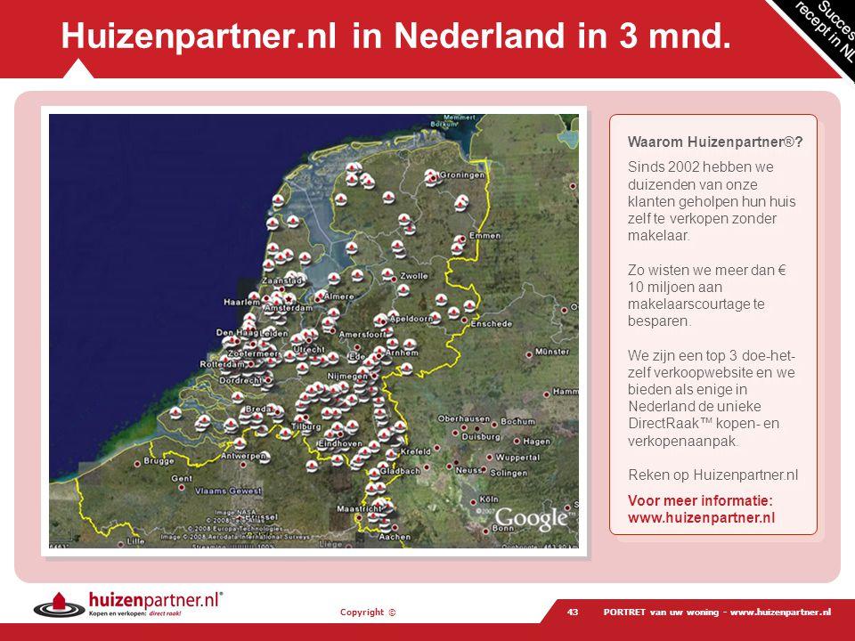 Huizenpartner.nl in Nederland in 3 mnd.