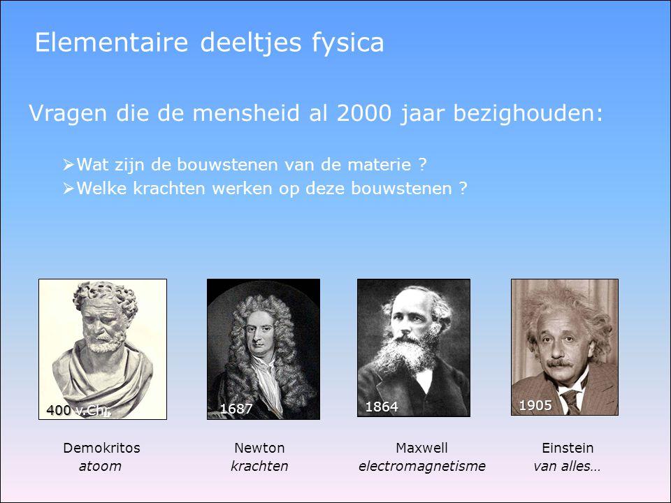 Elementaire deeltjes fysica