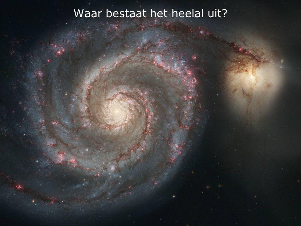 Waar bestaat het heelal uit