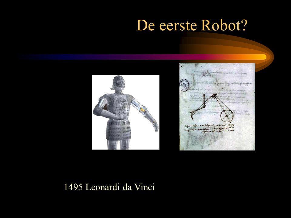 De eerste Robot 1495 Leonardi da Vinci