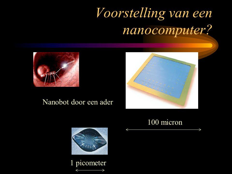 Voorstelling van een nanocomputer