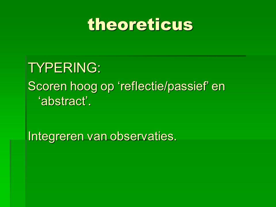theoreticus TYPERING: