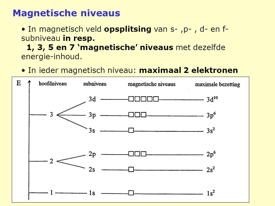 Magnetische niveaus