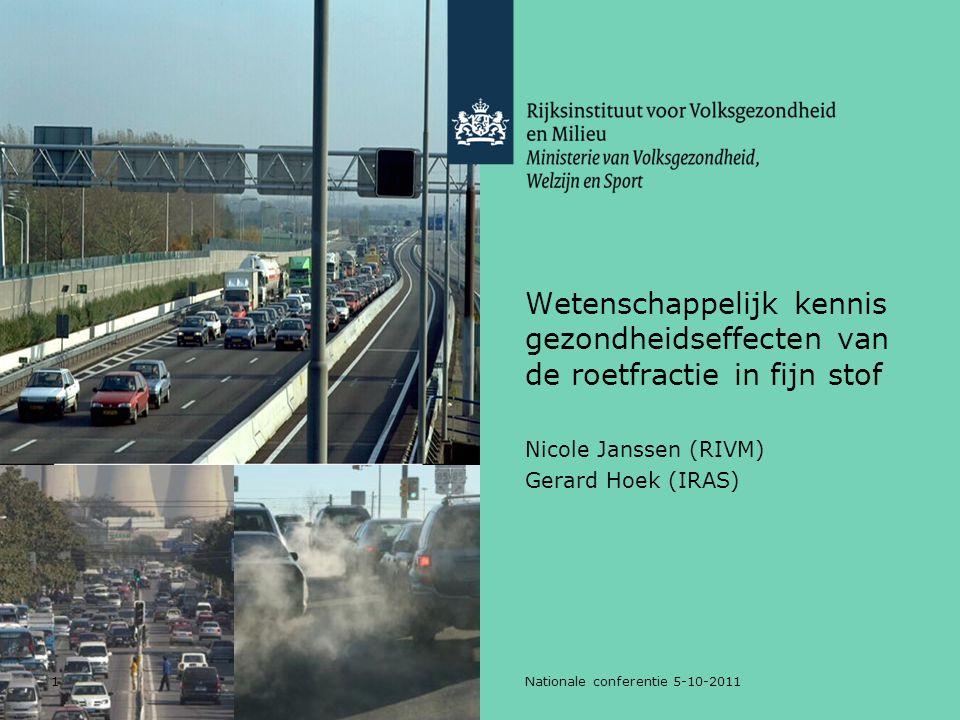 Nicole Janssen (RIVM) Gerard Hoek (IRAS)