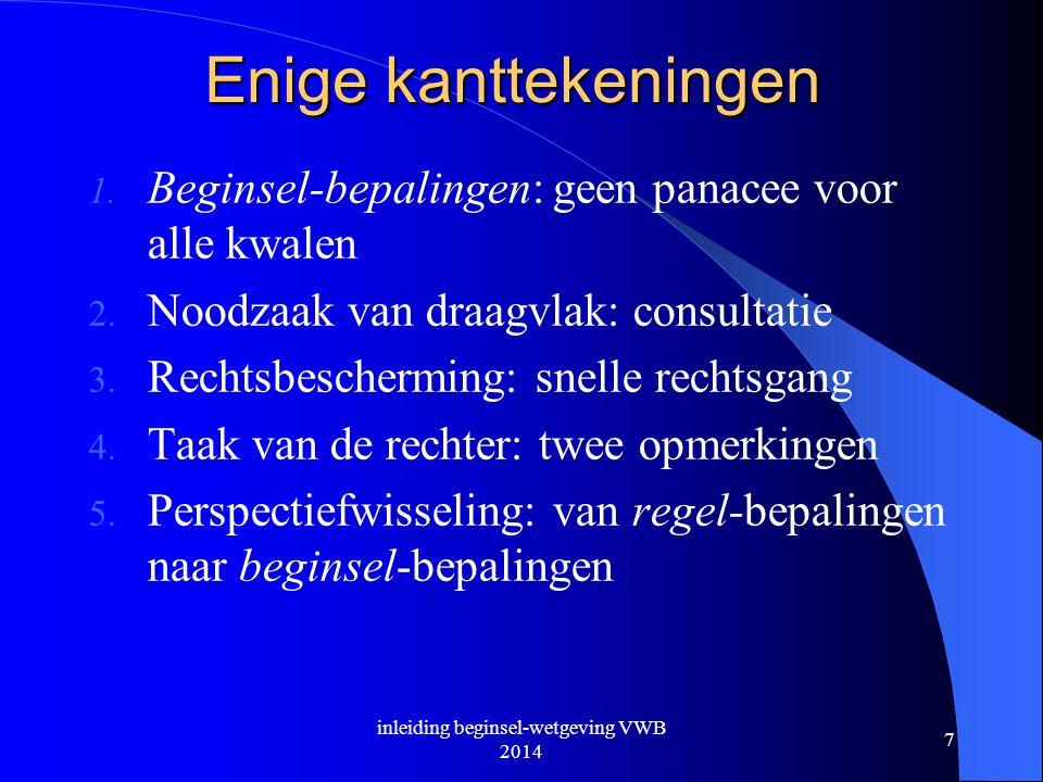inleiding beginsel-wetgeving VWB 2014