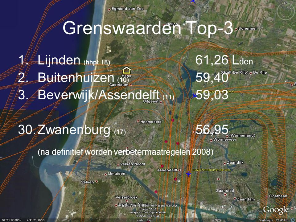 Grenswaarden Top-3 Lijnden (hhpt 18) 61,26 Lden