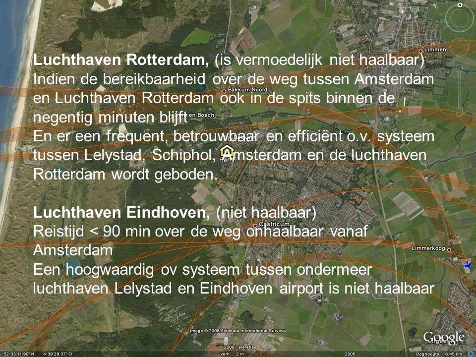 Luchthaven Rotterdam, (is vermoedelijk niet haalbaar)