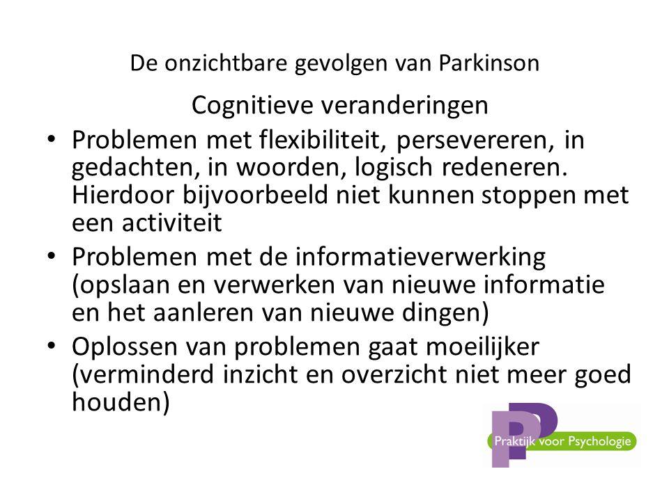 De onzichtbare gevolgen van Parkinson