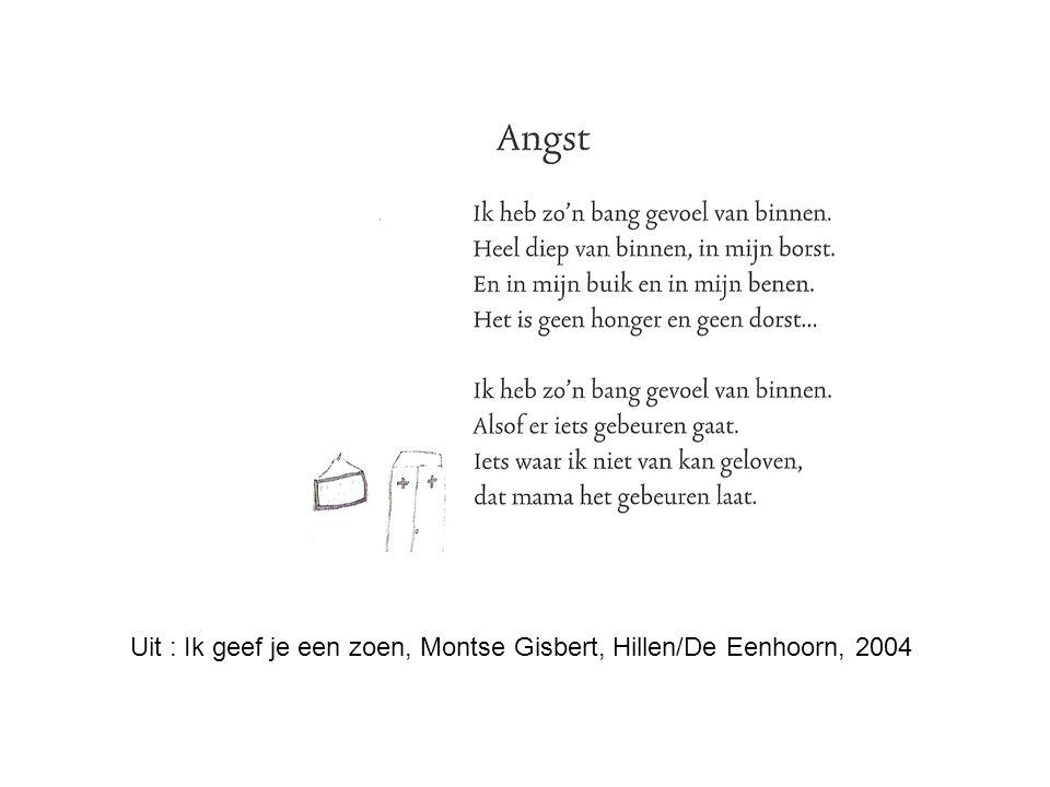Uit : Ik geef je een zoen, Montse Gisbert, Hillen/De Eenhoorn, 2004