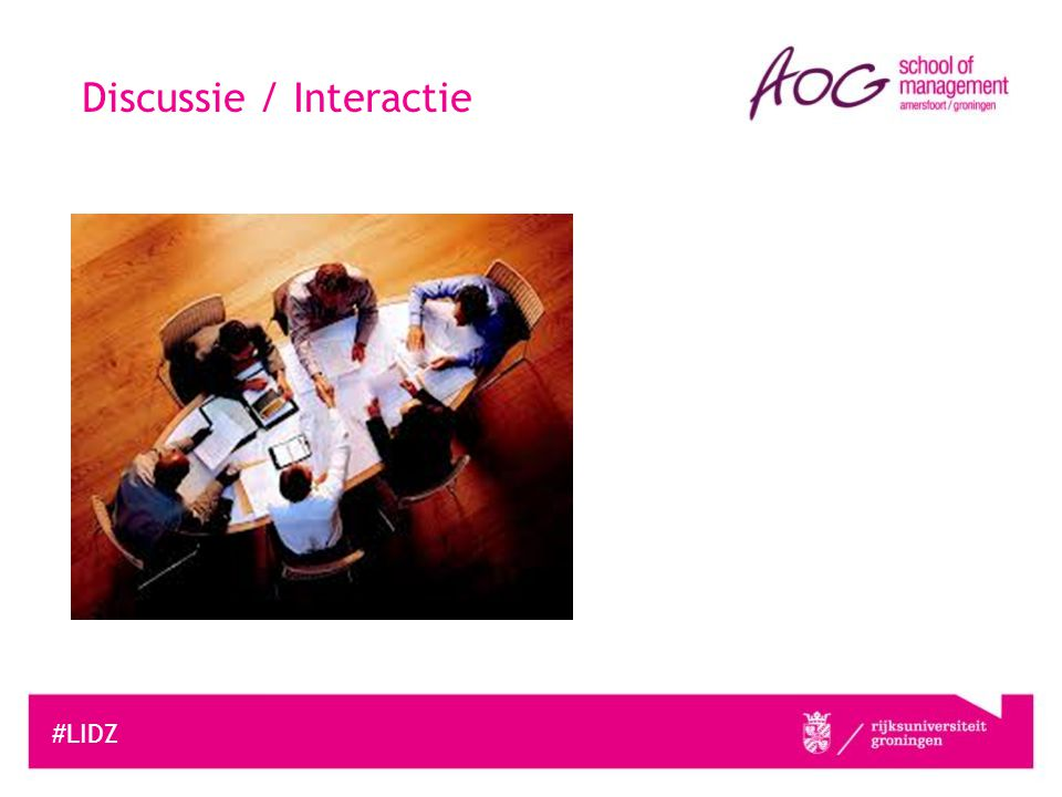 Discussie / Interactie