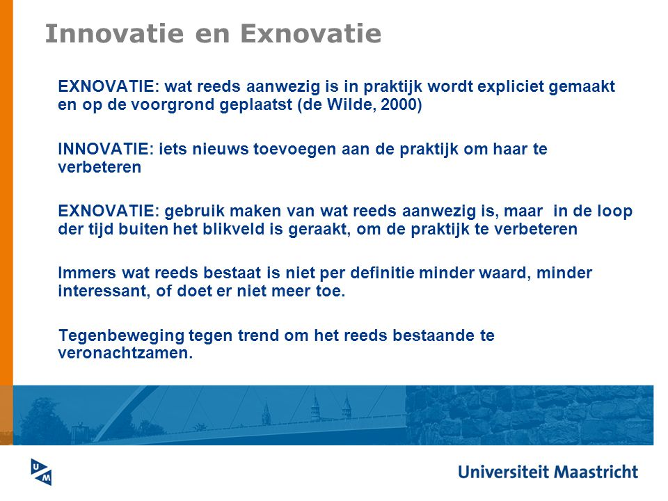Innovatie en Exnovatie
