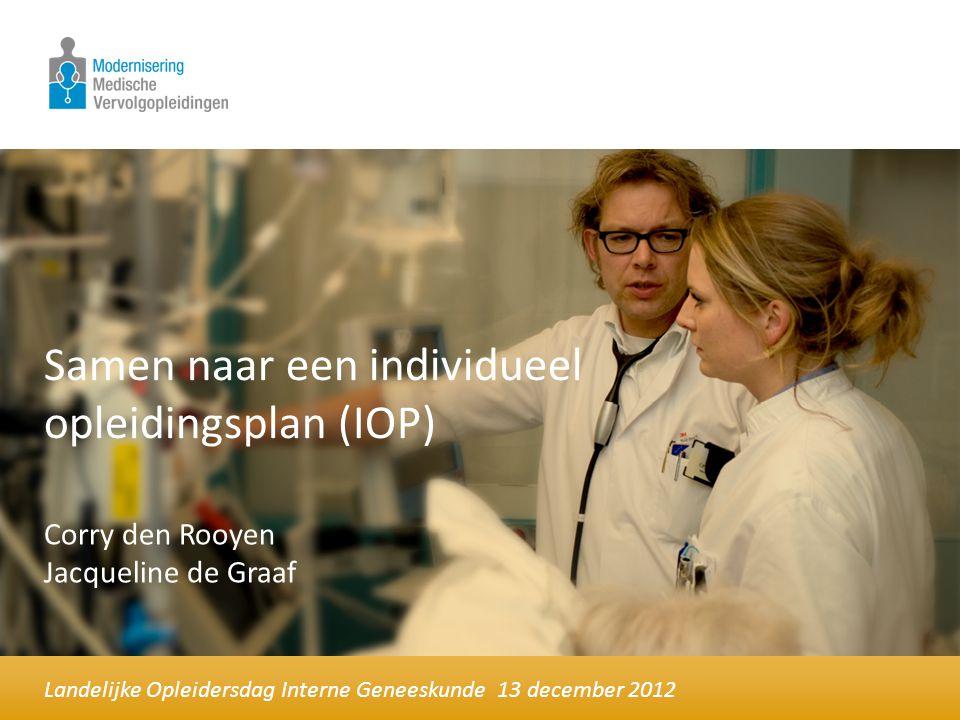 Samen naar een individueel opleidingsplan (IOP)