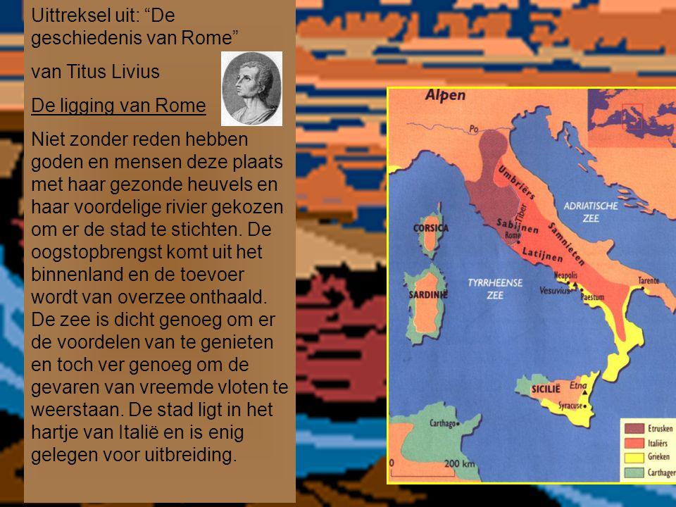Uittreksel uit: De geschiedenis van Rome
