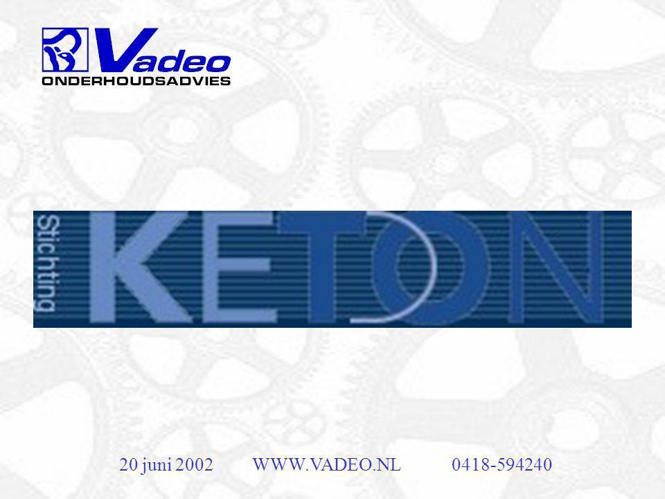 20 juni 2002 WWW.VADEO.NL 0418-594240
