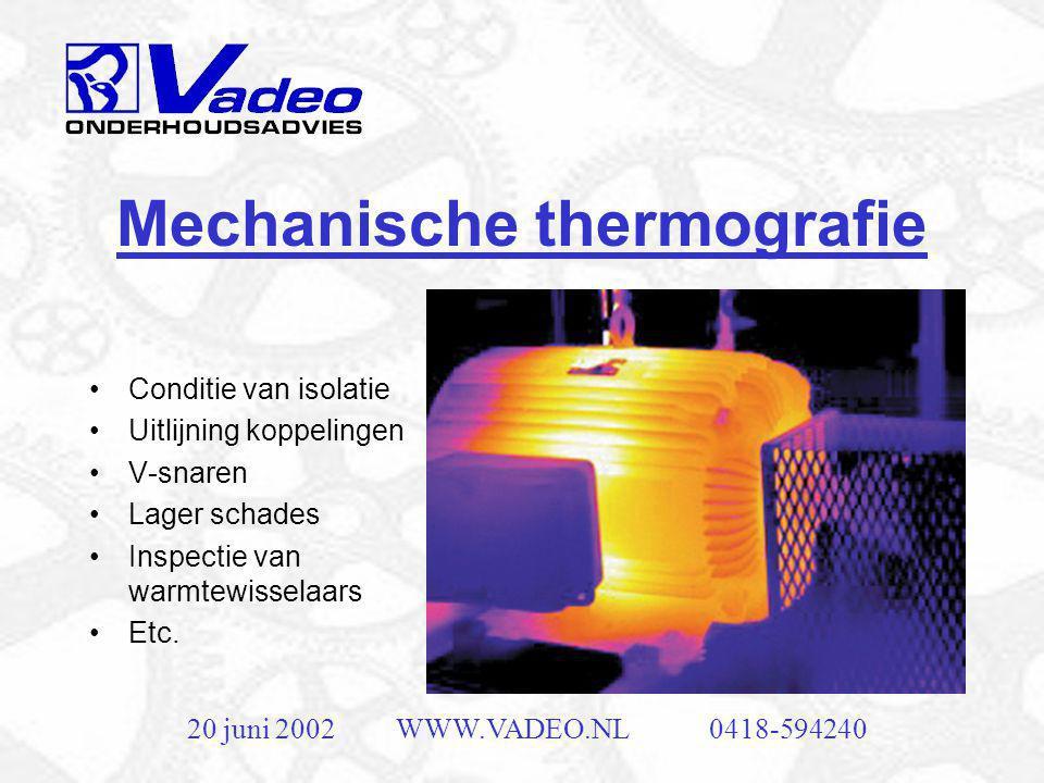 Mechanische thermografie