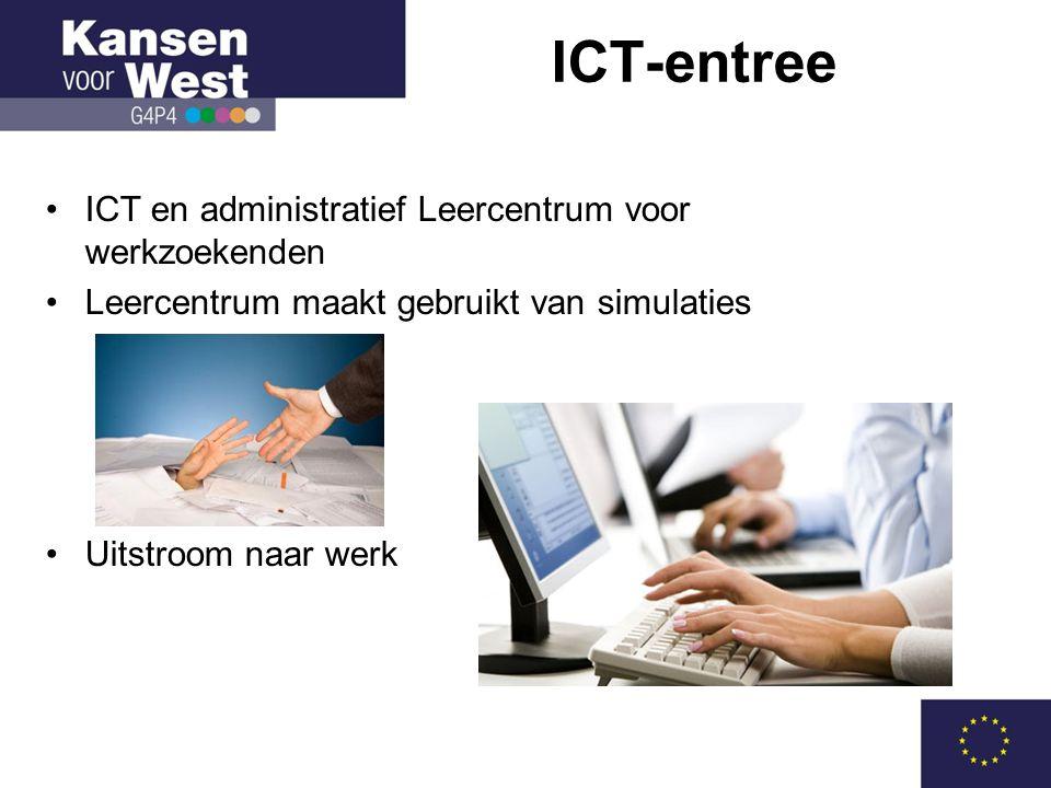 ICT-entree ICT en administratief Leercentrum voor werkzoekenden