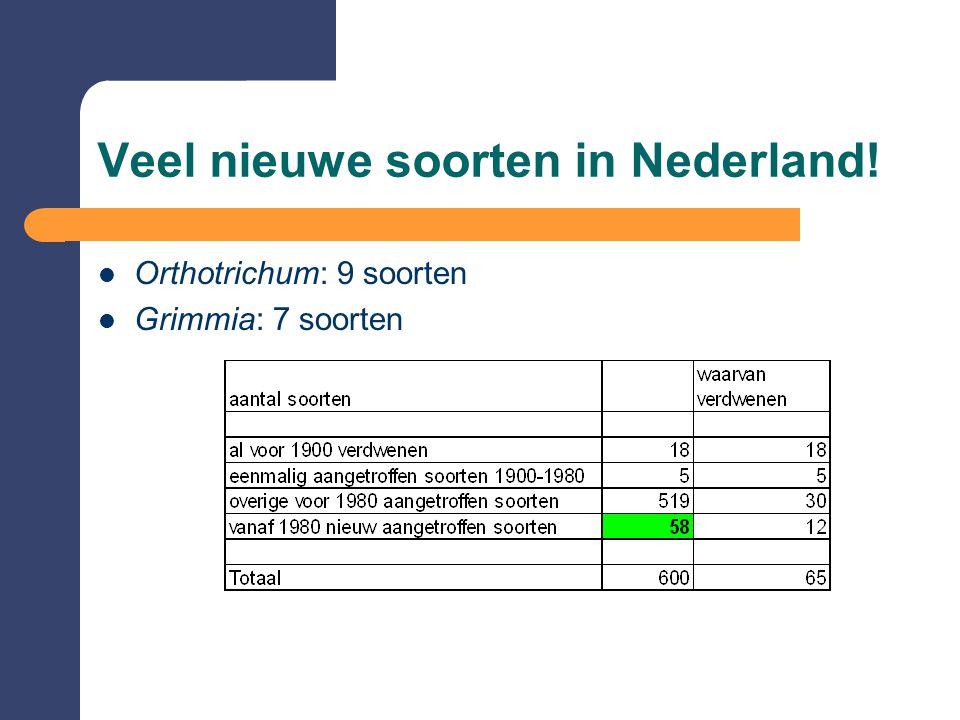 Veel nieuwe soorten in Nederland!