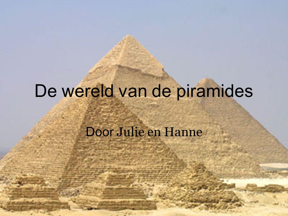 De wereld van de piramides