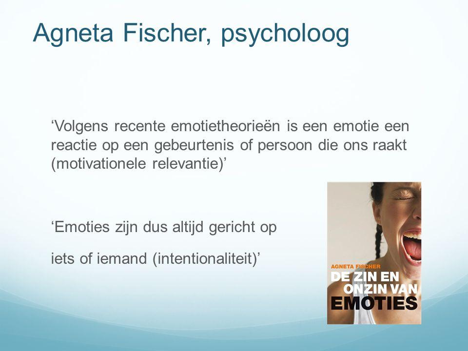 Agneta Fischer, psycholoog