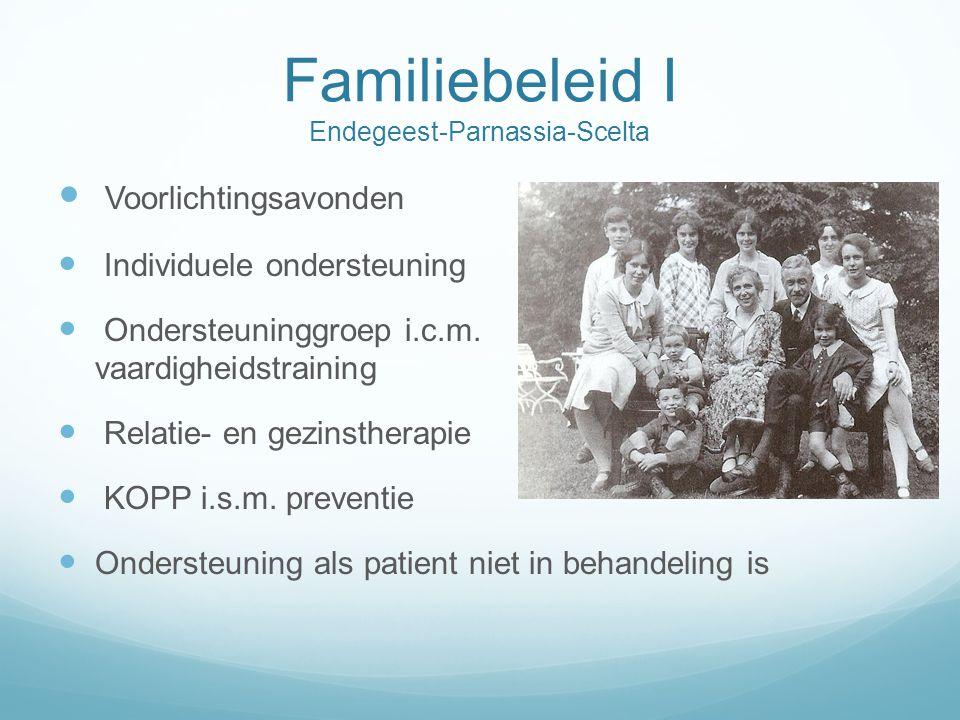 Familiebeleid I Endegeest-Parnassia-Scelta