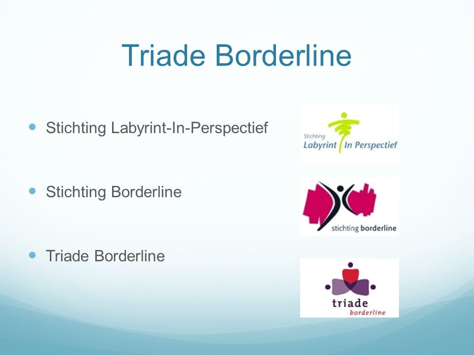 Triade Borderline Stichting Labyrint-In-Perspectief