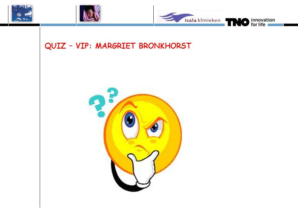 Margriet Bronkhorst 1: Wie is de medisch coördinator van het nicu neonatale gehoorscreeningsprogramma